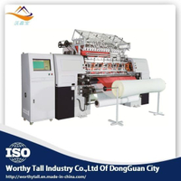 Multi Needle Quilting Machine with Embroidery Machine