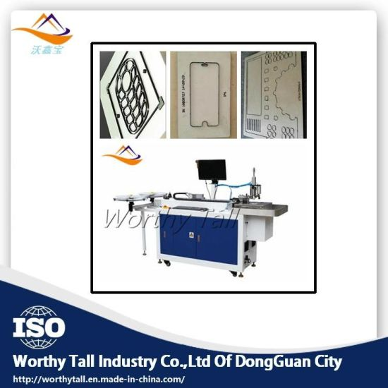 Color Printing Auto Die Cutter Machine in Packing Industry