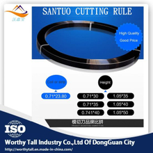 Die Cutting Steel Rule for Cutting and Bending Machine (2PT, 3PT, 4PT, 6PT)
